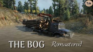 """SnowRunner """"Карта: The Bog Remastered v1.2 (v15.0)"""""""