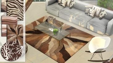 "Sims 4 ""Сет ковров Contemporary Carpets 7 от Pralinesims"""