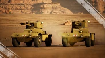 Британские бронемашины в Strategic Mind: Fight for Freedom