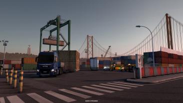 Euro Truck Simulator 2: Иберийский специальный транспорт + видео игрового процесса #2