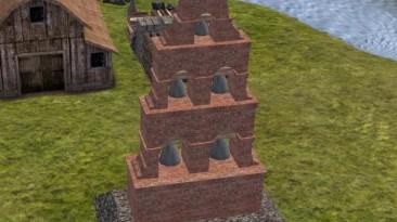 """Banished """"Mission Bell Tower V2"""""""