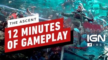 12 минут из киберпанкового экшена The Ascent