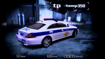 """Need for Speed: Most Wanted """"Mercedes-benz cls63 amg (w218) дпс об нижегородской области"""""""