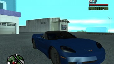 "Grand Theft Auto: San Andreas ""2005 Chevy Corvette C6 Convertable"""