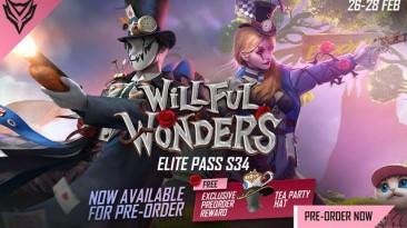 "Новый Elite Pass ""Willful Wonders"" стал доступен в Free Fire"