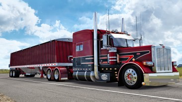 "American Truck Simulator ""Прицеп Jet Company Grain Hopper в собственность"""