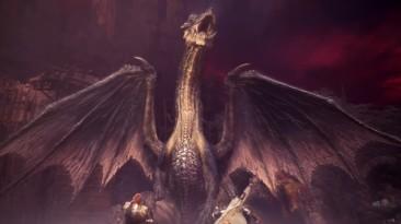 Трейлер нового обновления для Monster Hunter World: Iceborne с драконом