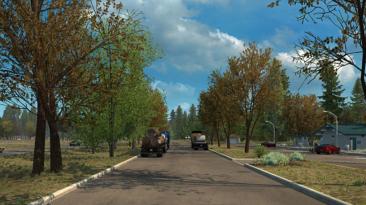 "American Truck Simulator ""Ранняя осень v2.0 (1.40.x)"""