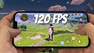 Genshin Impact получает поддержку 120 fps на iOS