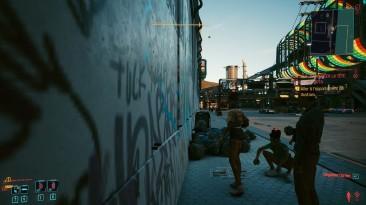 Моддер работает над возможностью бега по стене в Cyberpunk 2077
