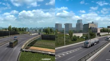 ETS2 1.38: обновление французского города Лилль