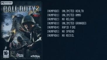 Call of Duty 2: Трейнер/Trainer (+7) [1.0 - 1.5] {LIRW / GHL}