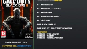 Call of Duty: Black Ops 3: Трейнер/Trainer (+9) [Update 25] {LinGon}