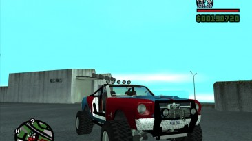 """Grand Theft Auto: San Andreas """"Mustang Sandroadster"""""""