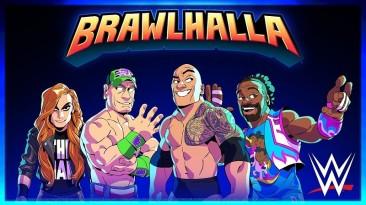 Ubisoft объявила о новом партнерстве с WWE в Brawlhalla