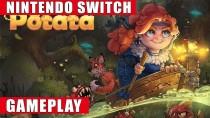 21 минута геймплея Switch-версии платформера Potata: Fairy Flower