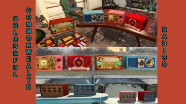 """Fallout 4 """"Разноцветное Содружество - 4 новых радио"""""""