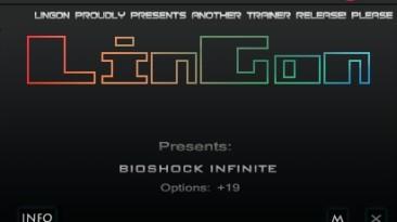 BioShock Infinite: Трейнер/Trainer (+21) [1.1.24.21018] {LinGon}
