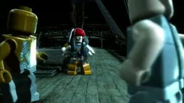 "Lego Pirates of the Caribbean: The Video Game - Трейлер ""На странных берегах"""