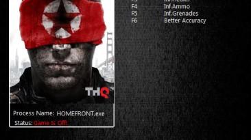 Homefront: Трейнер/Trainer (+4) [1.5.5] {MrAntiFun}