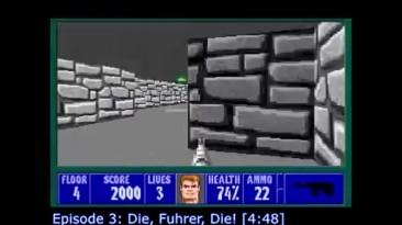 Скоростное прохождение Wolfenstein 3D [32:50]