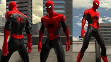 "Spider-Man: Web of Shadows ""Концепт красного костюма 2021"""