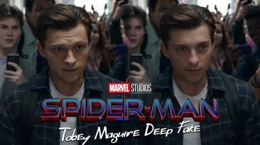 """Тоби Магуайра сделали главным героем фильма """"Человек-паук: Нет пути домой"""" с помощью Deepfake"""