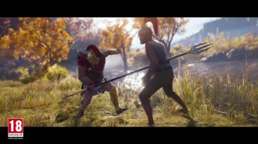 Assassin's Creed: Odyssey (E3 2018) - ламповый русский трейлер - VHSник