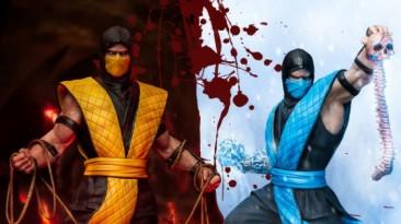 Iron Studios анонсировали статуи классических Скорпиона и Саб-Зиро по вселенной Mortal Kombat