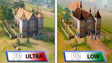 """""""Пойдет даже на самом слабом ПК"""" - появился технический анализ Age of Empires 4"""