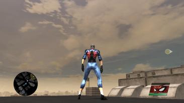 "Spider-Man: Web of Shadows ""akatsuki suit (red spiderman)"""