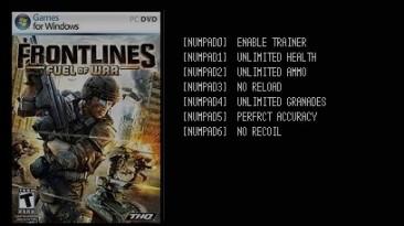 Frontlines: Fuel of War: Трейнер/Trainer (+6) [1.3] {LIRW / GHL}