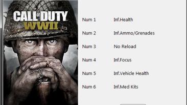 Call of Duty: WWII: Трейнер/Trainer (+6) [1.3.0.15989] {Blayde}
