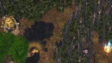 "Heroes Of Might And Magic 5: Повелитель орды ""Карта - Dark Forest"""