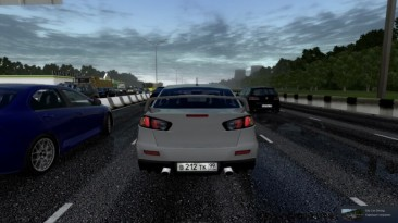 "City Car Driving ""Mitsubishi Lancer X для трафика (v1.5.9 - 1.5.9.2)"""