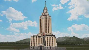"Cities Skylines ""Гостиница Ленинградская"""