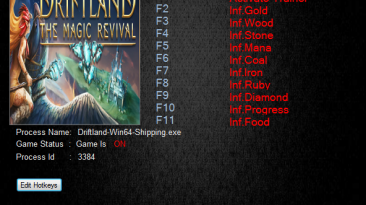 Driftland The Magic Revival: Трейнер/Trainer (+6) [1.0] {MrAntiFun}
