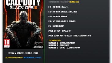 Call of Duty: Black Ops 3: Трейнер/Trainer (+9) [Update 24] {LinGon}