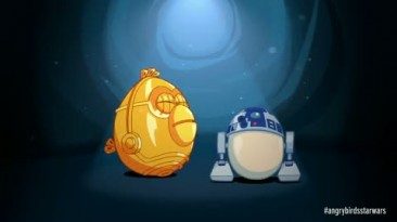 """Angry Birds: Star Wars """"R2-D2 C-3PO Gameplay Trailer"""""""
