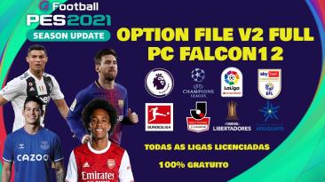 PES 2021 PC Option File v2 AIO [Falcon12]