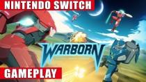 Видео геймплея пошаговой стратегии с гигантскими боевыми роботами Warborn