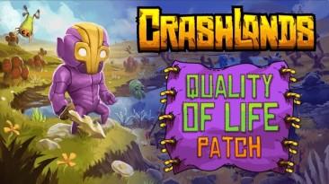 """В Crashlands сегодня улучшится """"Качество жизни"""""""
