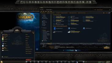 "World of Warcraft ""Windows Тема"""