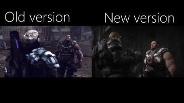 Сравнение одной из заставок оригинального Gears of War и грядущего ремастера