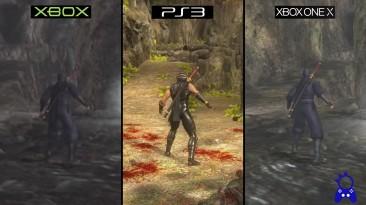 Как выглядит Ninja Gaiden на Xbox, PS3 и ONE X