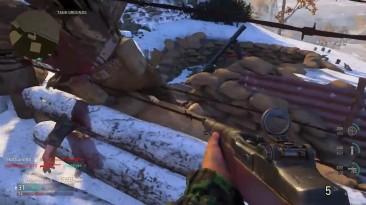 Лучший в мире Нидзя монтаж в (Call of Duty: WWII)