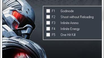 Crysis 2: Трейнер (+5) [1.8] {GunRunner}