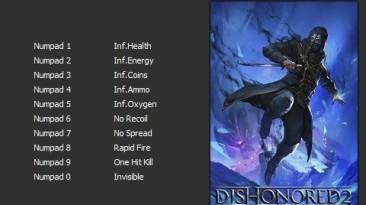 Dishonored 2: Трейнер/Trainer (+10) [v1.77.5.0] [PC   RePack от qoob] {Enjoy}