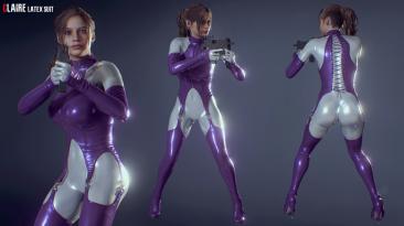 """Resident Evil 2 """"Клэр в ультрафиолетовом латексе"""""""