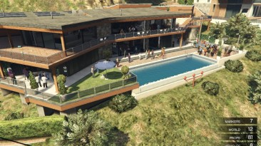 """Grand Theft Auto 5 """"Franklin House Party 1.0 [FINAL]"""""""